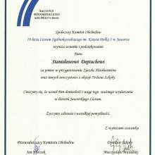 Certyfikat 38