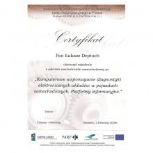 Certyfikat 15