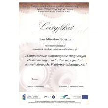 Certyfikat 25