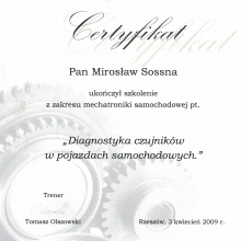 Certyfikat 48